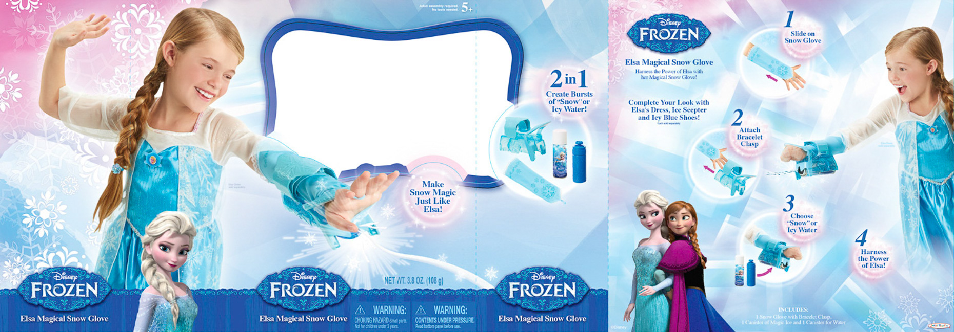 Frozen_95164_Elsa Magical Snow Glove_WB_F15