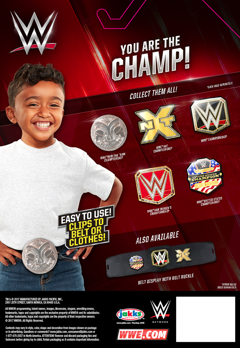 41252_WWE_CHAMPIONSHIP BELT BUCKLES_WORLD HEAVYWEIGHT_R4