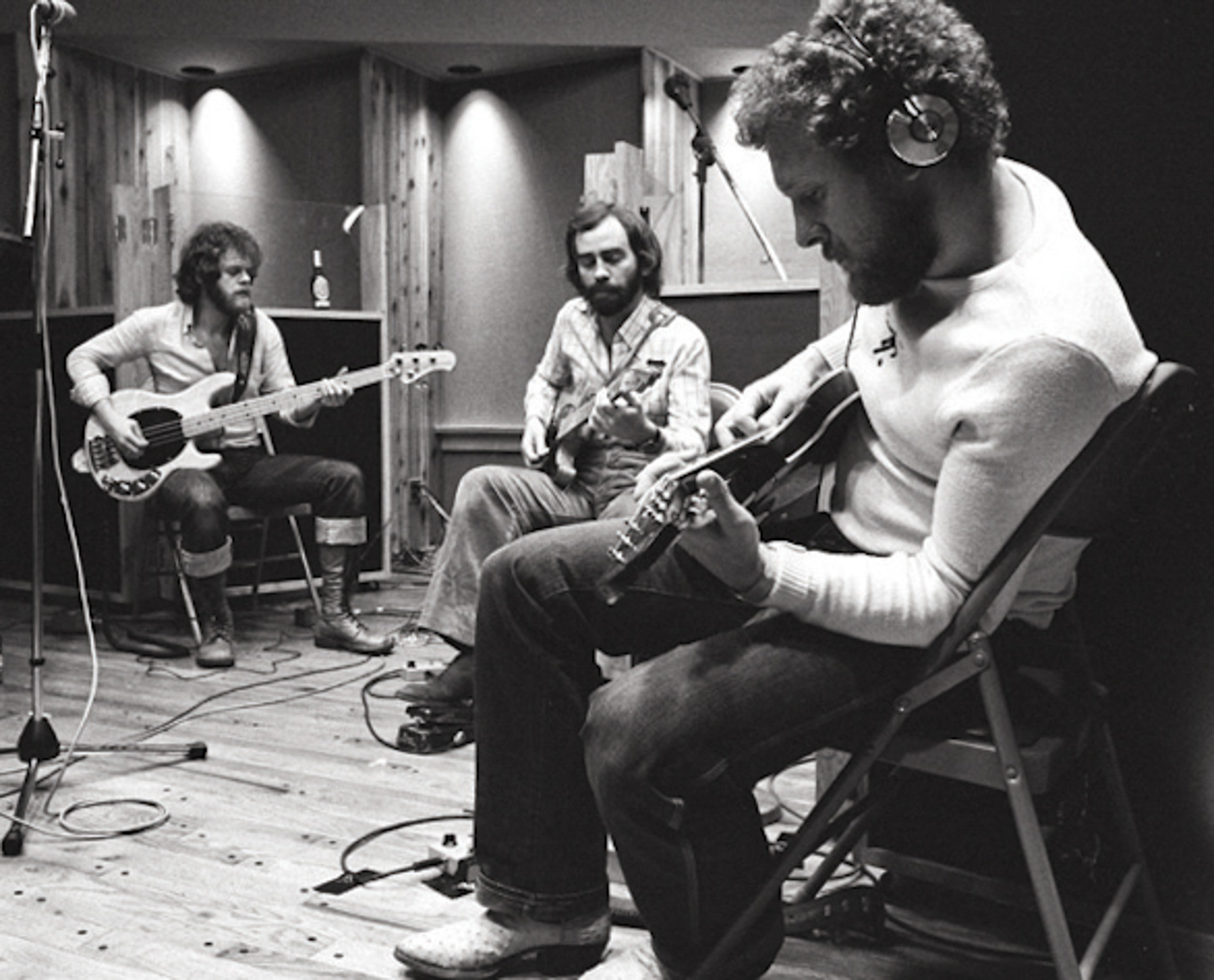 Average White Band in studio, 1970s [Lisa Tanner]_1