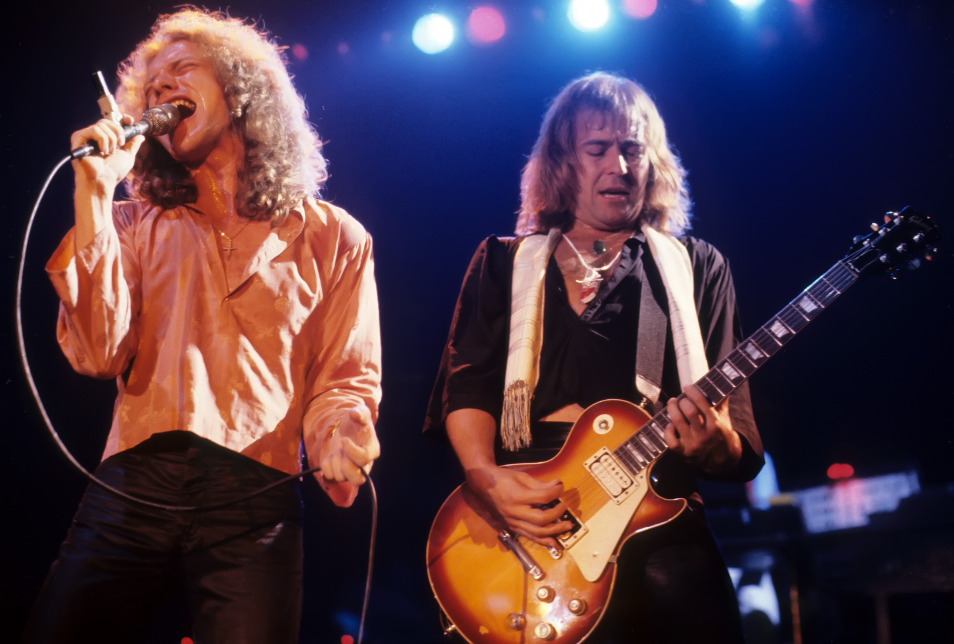 Foreigner-Lou Gramm . Mick Jones