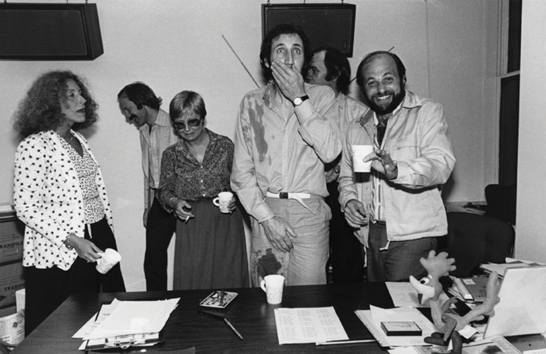 Pete Townsend & Doug Morris, Signing at ATCO Offices, 1980 [Lisa Tanner]_1